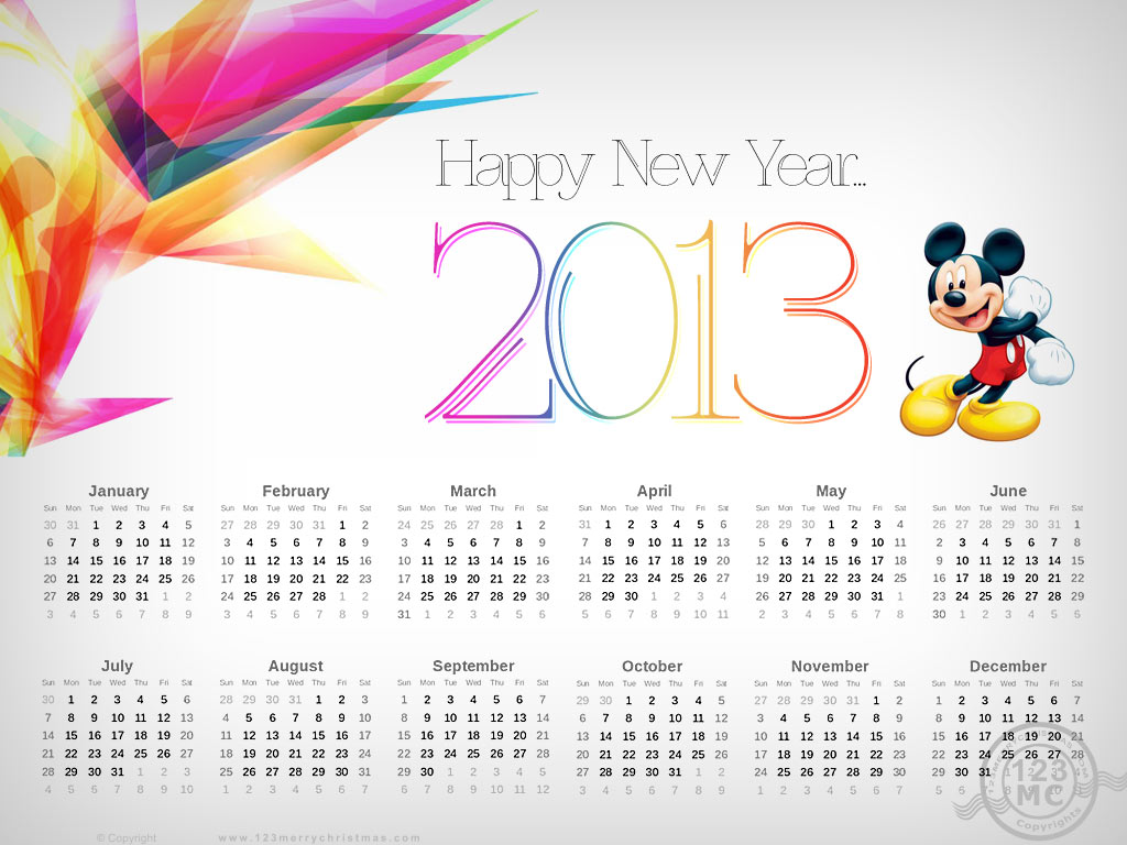 downloads-calendario-2013-gratis-mickey