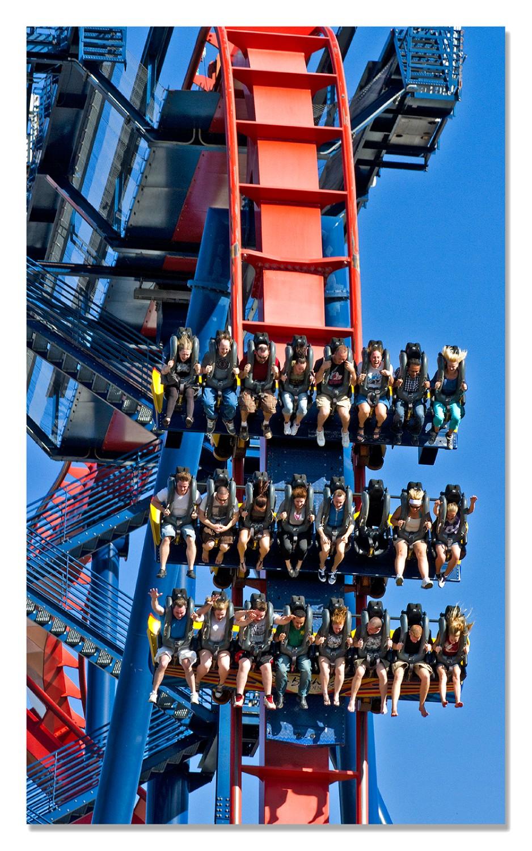Sheikra Roller Coaster Busch Gardens 2011