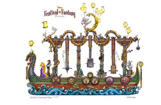Festival fantasy Rapunzel