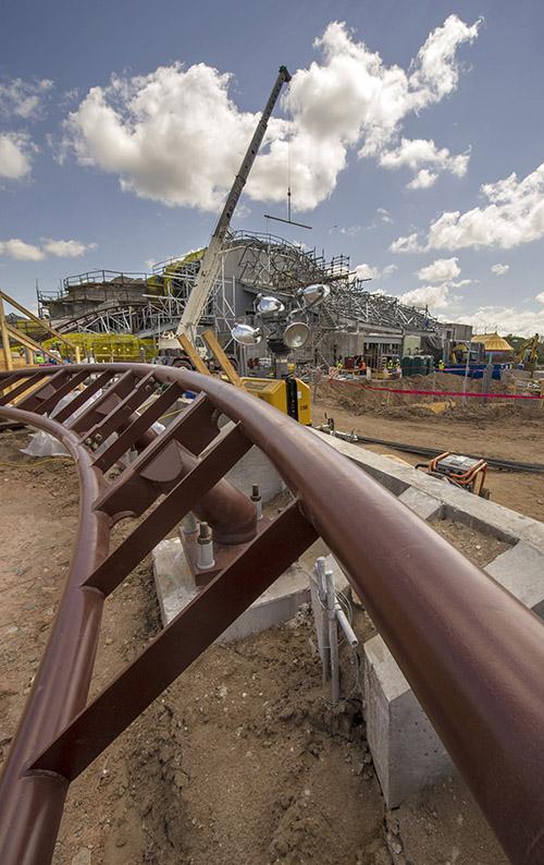 Seven Dwarfs Mine Train on Track to Open in 2014
